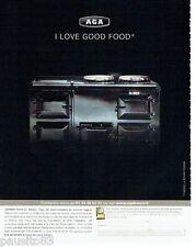 PUBLICITE ADVERTISING 126  2006   AGA  cuisinière Piano design