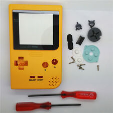 New Orange Yellow Full Housing Shell for Nintendo Game boy Pocket GBP