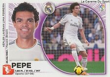 N°07 PEPE # PORTUGAL REAL MADRID CS.MARITIMO STICKER CROMO PANINI LIGA 2015