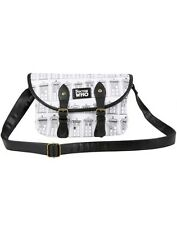 Doctor Who Tardis Repeat Print Double Buckle Crossbody Bag Purse Handbag Dr NWT!