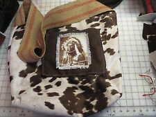 Native American themed Purse Shoulder Bag, one of a kind hand made