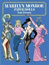 Dover Celebrity Paper Dolls: Marilyn Monroe Paper Dolls by Tom Tierney (1985, P…