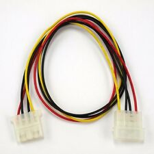 "24"" 4 Pin Molex Power Connector IDE Extension Adapter Cable, For PC Computer PSU"
