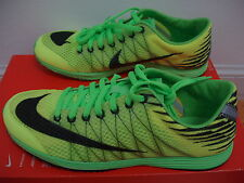 New w/flaw Nike Lunarspider R3 running shoes mens 8 =women 9.5 neon green/yellow
