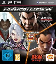TEKKEN 6 + TEKKEN TAG TOURNAMENT 2 + SOUL CALIBUR V 5 NUEVO PRECINTADO PS3