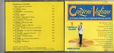 CANZONI ITALIANE 1 CD Carosello italiano MINA DOMENICO MODUGNO ROBERTO MUROLO