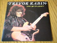 """TREVOR RABIN - TAKE ME TO A PARTY   7"""" CLEAR VINYL PS"""