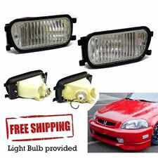 Honda Prelude Accord CB3 CD5 BB4 BB6 Front Bumper Intersection Fog Lights Lamp