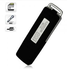 Mini UR-08 8GB USB Disk Pen Drive Digital Audio Voice Recorder 140hrs Recor