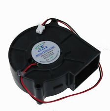 1Pcs 75MM 12V 2Pin DC Brushless Cooling Exhaust Blower Fan 7530s 75X30mm
