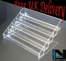 NAIL POLISH ACRYLIC DISPLAY STAND HOLDS APPROX 50 BOTTLES HIGH QUALITY