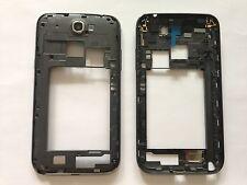 Schwarz Grau Rahmen Mittelrahmen Gehäuse Frame Cover Samsung Galaxy Note 2 N7100