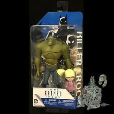 BATMAN The Animated Series KILLER CROC with BABY DOLL Action FIgure DC Comics!