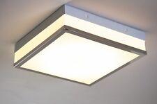 Plafonnier Design Carré Lustre LED Lampe à suspension blanche Luminaire 115186