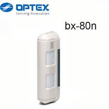 Sensore ANTIFURTO OPTEX BX80N DOPPIO INFRAROSSO SENSORE ESTERNO BARRIERA BX 80N