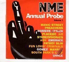 (GX557) Annual Probe Vol 1, 13 tracks various artists - 1998 NME CD