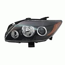 05-10 Scion tC Left Driver Side Headlamp w/grey bezel w/projection high beam
