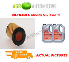 DIESEL OIL FILTER + FS 5W40 ENGINE OIL FOR ROVER 75 2.0 131 BHP 2002-05