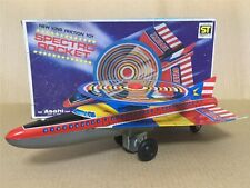 ASAHI ATC Spectro Rocket Friction Tin Toy Japan car space masudaya yonezawa