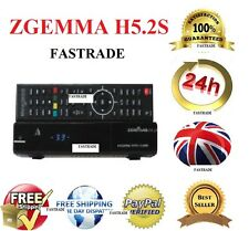Original ZGEMMA H5.2S dual core double récepteur satellite DVB-S2 tuner free to air