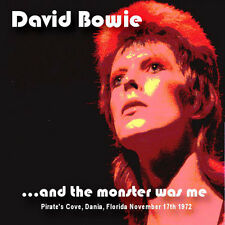 DAVID BOWIE - '...AND THE MONSTER WAS ME' LIVE 1972 JAPANESE 2 x CD – RARE!