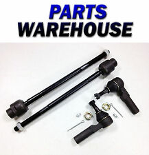 4 New Inner And Outer Tie Rod Ends - Chevrolet/Pontiac/Saturn 1992-2002 1Yr Wrty