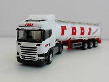 Scania R HIGHLINE Spedition ROOS 1/87 H0 Tank semi-trailer HERPA 302661 r 09