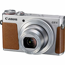 Brand New Canon PowerShot G9 X Compact Digital Camera Silver