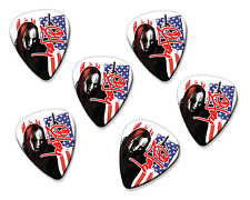 Joey Jordison Slipknot 6 X Loose Guitar Picks Plectrums ( Flag Design )