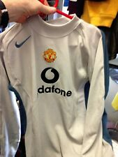 MANCHESTER UNITED GOALIES SHIRT  AWAYIN  32/34NCH 2002/4TOP AT £15  BNWL