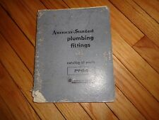 American-Standard Plumbing Fittings Catalog of Parts PF64 1963