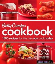 Betty Crocker New Cookbook Ser.: Betty Crocker Cookbook : 1500 Recipes for...