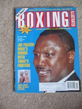 OCTOBER 1994 BOXING ILLUSTRATED  MAGAZINE JOE FRAZIER  COVER