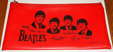 THE BEATLES RED PENCIL CASE NICE!