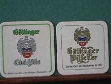 Göttinger Edel-Pils Pilsener 2 Stück Bierdeckel