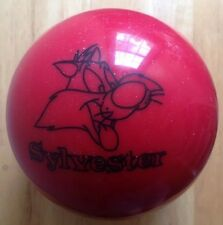 SYLVESTER CAT 9 POUND BOWLING BALL, BRUNSWICK, WARNER BROTHERS, UNDRILLED, NOS