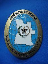 ANGOLA SECRET POLICE SERVIÇO DE INTELIGENCIA EXTERNA BADGE 65mm