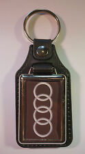 AUDI FAUX LEATHER KEY RING / KEY FOB.