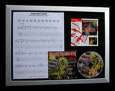 IRON MAIDEN Twighlight Zone TOP QUALITY CD LTD FRAMED DISPLAY+FAST GLOBAL SHIP