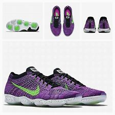 BNIB Womens UK 5.5 Nike Flyknit Air Zoom Agility Free Run Trainers 698616-501