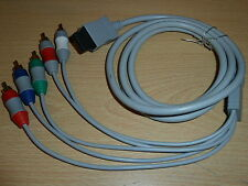NINTENDO WII COMPONENT HIGH DEFINITION HD TV CABLE BRAND NEW LEAD ADAPTER Hi Def
