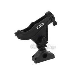 Scotty 280 Bait Caster / Spinning Rod Holder with 241 Side / Deck Mount
