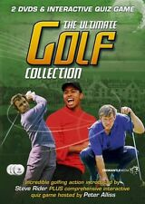 THE ULTIMATE GOLF COLLECTION, SEALED 2 x DVD + INTERACTIVE QUIZ GAME FROM 2007