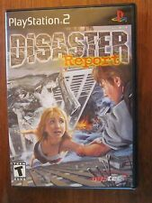 Disaster Report Sony PlayStation 2, 2003 Disc & Case Tested - Works Perfect!