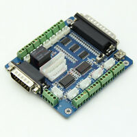 Board interface adapter for Stepper Motor + USB DB25 cable 5 axis CNC Breakout