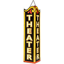 "HOME THEATER DECOR  ""THEATER METAL ART""  ENTERTAINMENT ROOM DECOR"