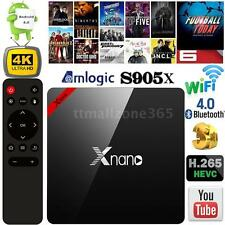 X96 PRO FULLY LOADED S905X Quad Core Android 6.0 Smart TV BOX WiFi 4K Media I7Q6