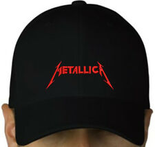 METALLICA EMBROIDERED CAP MEGADETH SEPULTURA ANTHRAX HEAVY Metal Negro