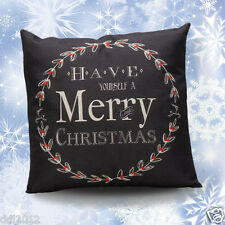 Hot Christmas Letter Sofa Bed Home Decoration Festival Pillow Case Cushion Cover
