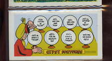 Topps Trading card Funny Doors #23 Gypsy Fortunes Near Mint+ Big romance unpunch